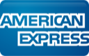 We Accept All Major Credit Cards: American Express