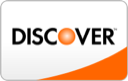 We Accept All Major Credit Cards: Discover