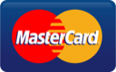 We Accept All Major Credit Cards: MasterCard