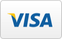 We Accept All Major Credit Cards: Visa